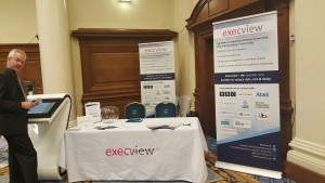 The Execview stand ready for action!