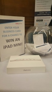 There was a competition to win an iPad mini with Execview
